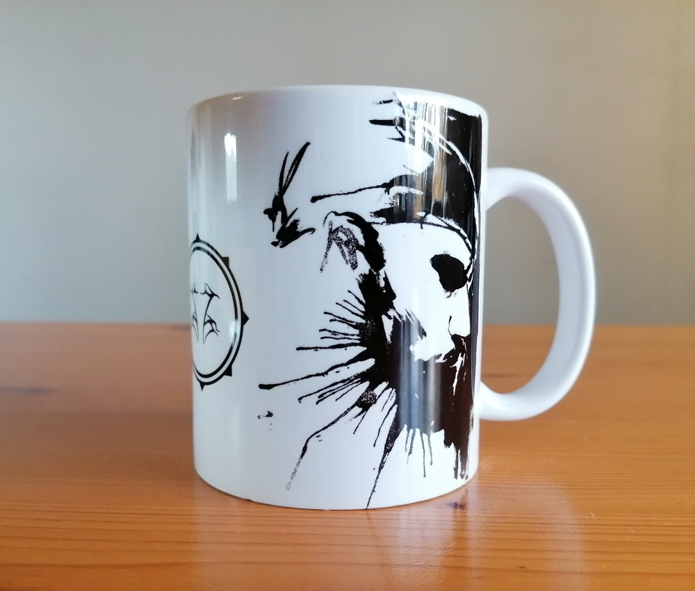 "Image of Shining ""I Am Your Enemy"" Coffee Mug"