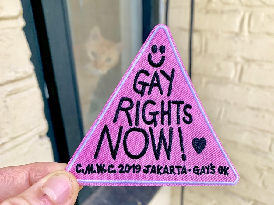 Image of GAY RIGHTS NOW Patch