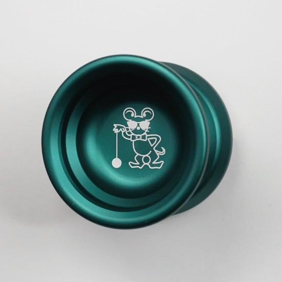 Image of FULL METAL YOYO / GREEN (TYPE X)