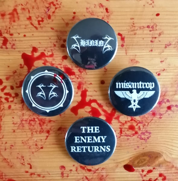"Image of Shining ""Support The Enemy"" Pin Pack"