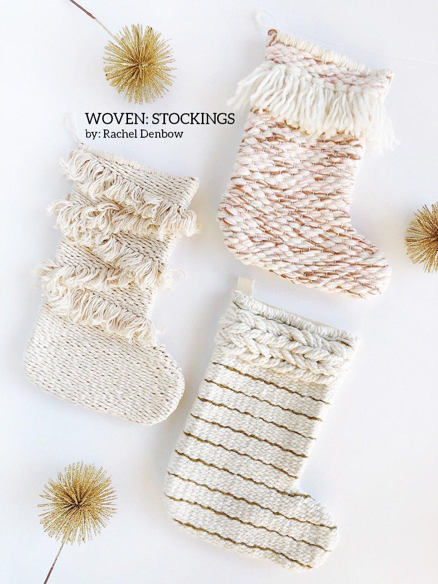 Image of Woven: Stockings Three Ways eCourse