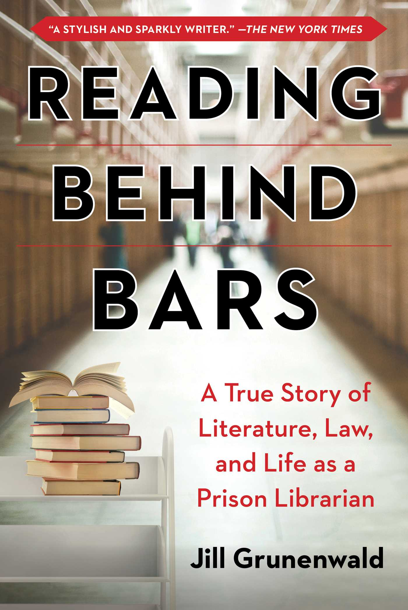 Image of READING BEHIND BARS (signed)