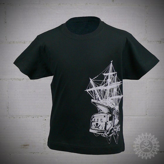 Image of T-SHIRT PIRATE BOAT KID