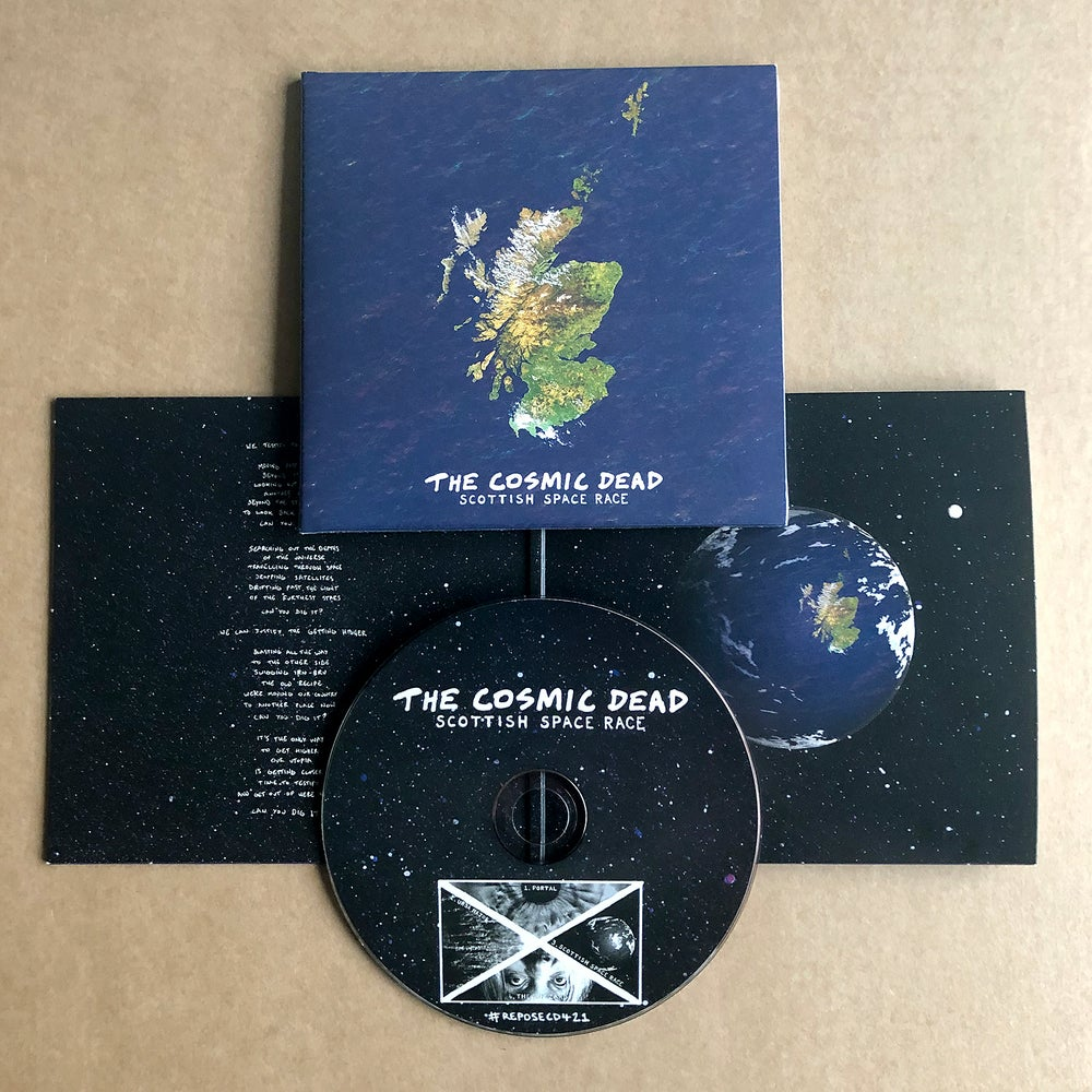 THE COSMIC DEAD 'Scottish Space Race' CD