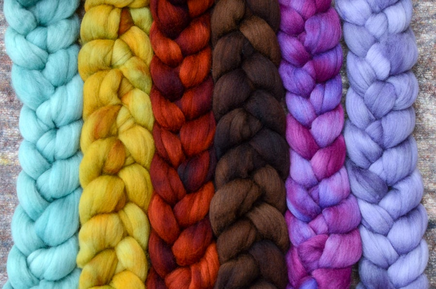 Image of September Fiber Club Coordinate Pack- PRE-ORDER - OPEN TO ALL - 6 oz.