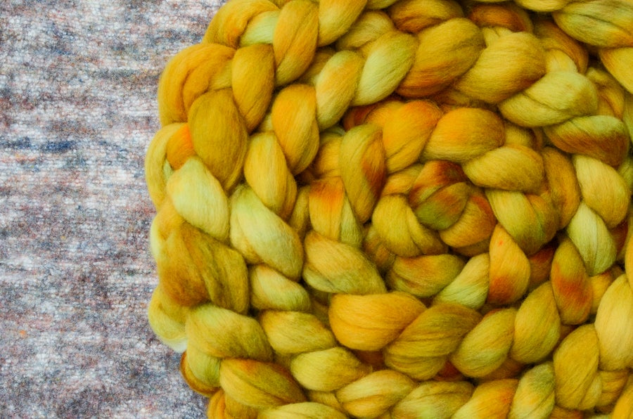 """Image of """"Grouchy"""" September Fiber Club Coordinates- PRE-ORDER - OPEN TO ALL - 4 oz."""