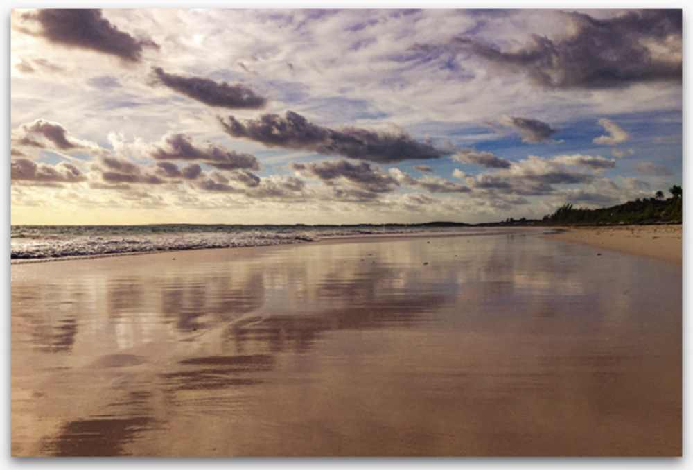 Image of Morning on Pink Sand - 2016