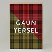 Image of Guan Yersel Tartan (Card) TN031