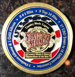 Image of Neal McCoy Challenge Coin