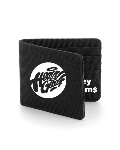 "Image of Heavy Goods ""Mo' Money Mo' Problems"" Wallet Black"
