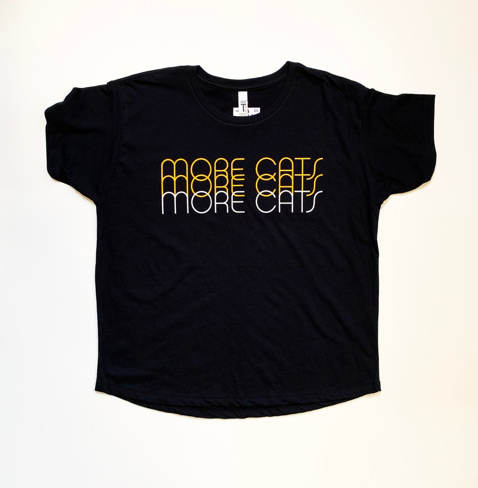 Image of More Cats More Cats More Cats -Ladies Tee