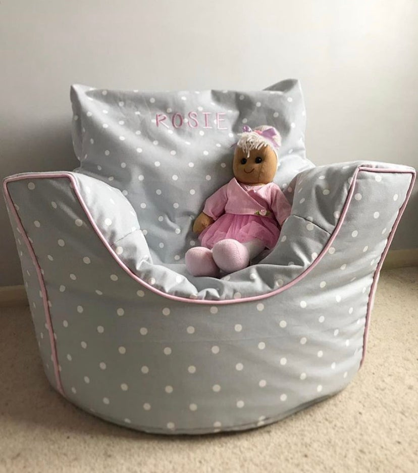 Image of Girls Personalised Squishy Chair
