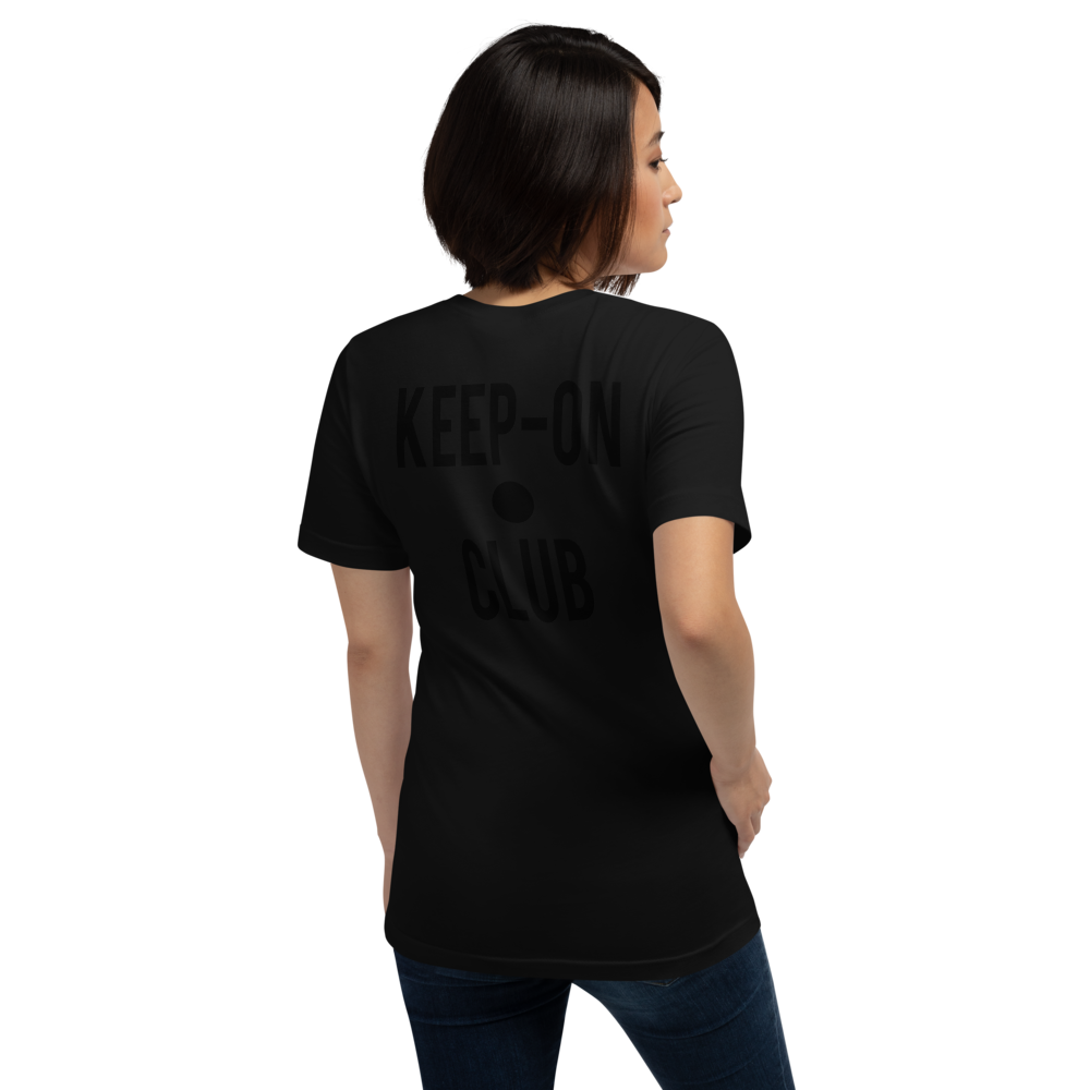 "Image of KEEP ON ""Black"" T SHIRT"