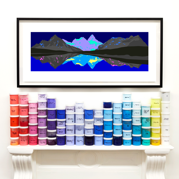 Image of Arcadia<br />limited edition print<br />44 x 102 cm<br /><br />