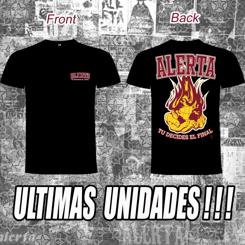 "Image of Camiseta ""Tú decides el final"" (edicion limitada). ¡¡¡ULTIMAS UNIDADES!!!!"
