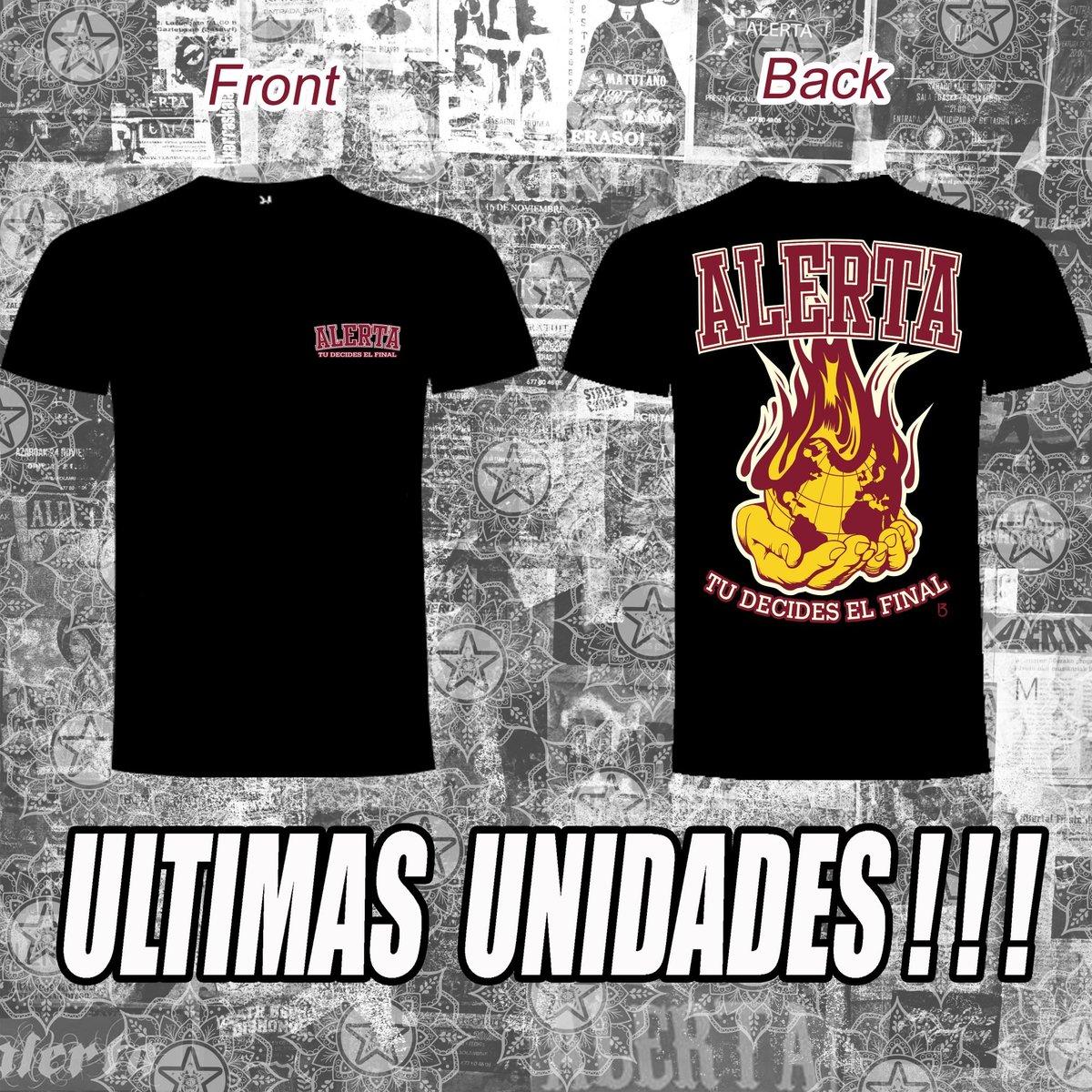 """Image of Camiseta """"Tú decides el final"""" (edicion limitada). ¡¡¡ULTIMAS UNIDADES!!!!"""