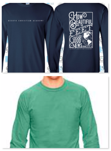 Image of DCA Beautiful Long Sleeve Comfort Color