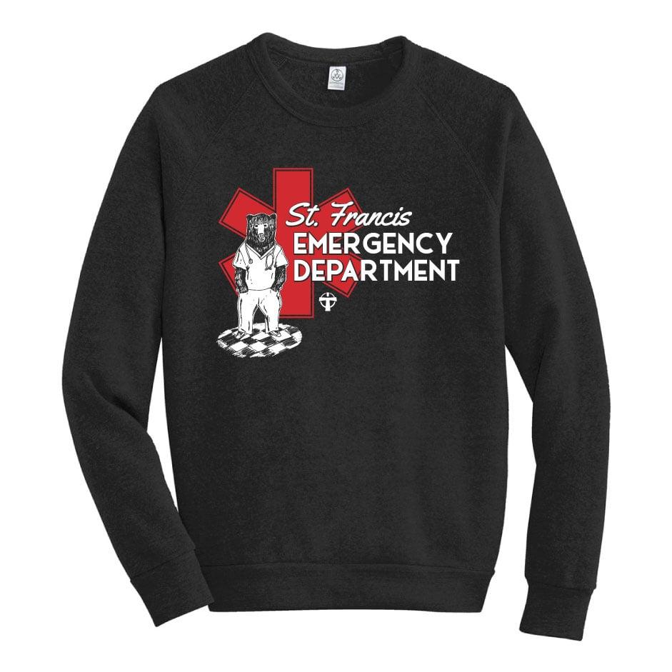 Image of Adult St Francis ER Sweatshirt- Pre Order