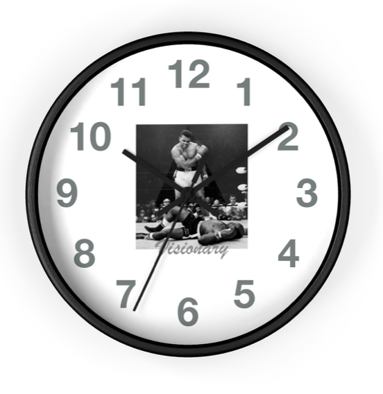 Image of ALI THE GREATEST WALL CLOCK