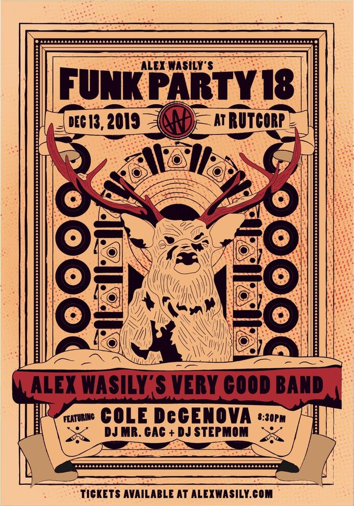 Image of FUNK PARTY 18 TICKETS - EARLY BIRD (LIMITED QUANTITY)