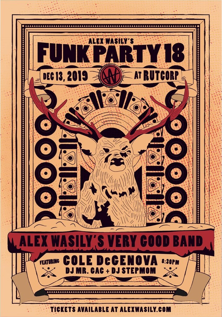 Image of FUNK PARTY 18 TICKETS - WEEK OF SHOW