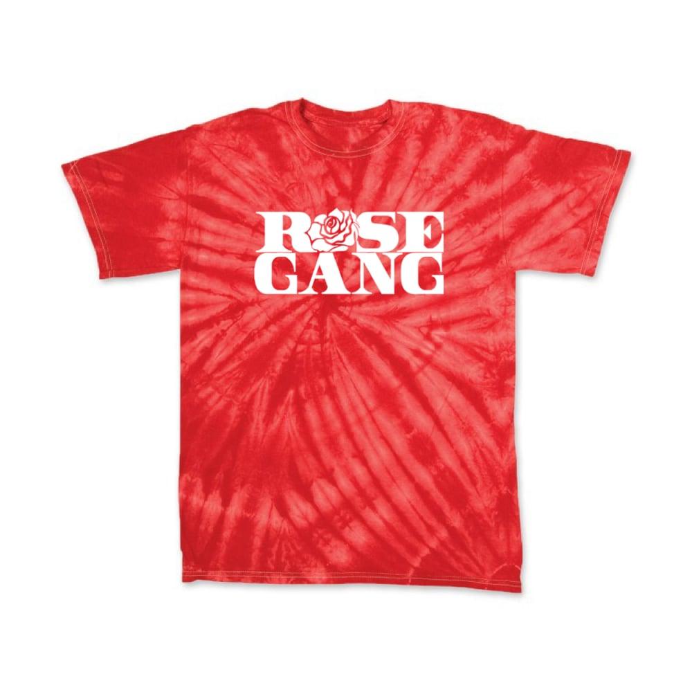Image of Rose Gang Rose Red Tie Dye