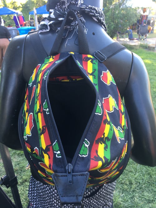 Image of Designs By IvoryB Backpack Africa