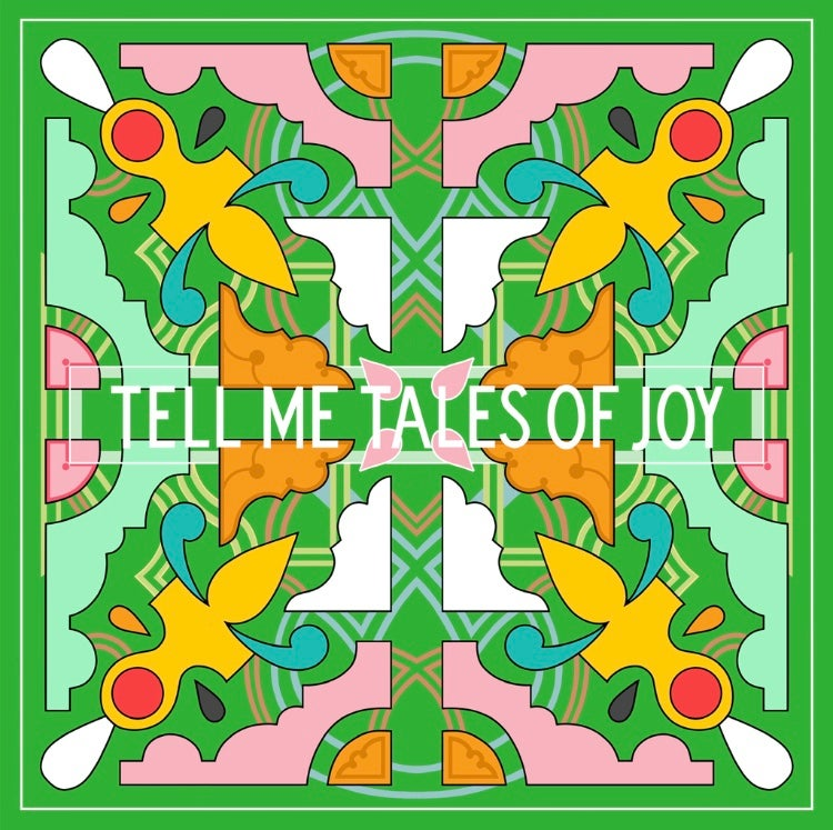 "Image of Tell me Tales of Joy, 2019 50cm2 and 12"" Print"