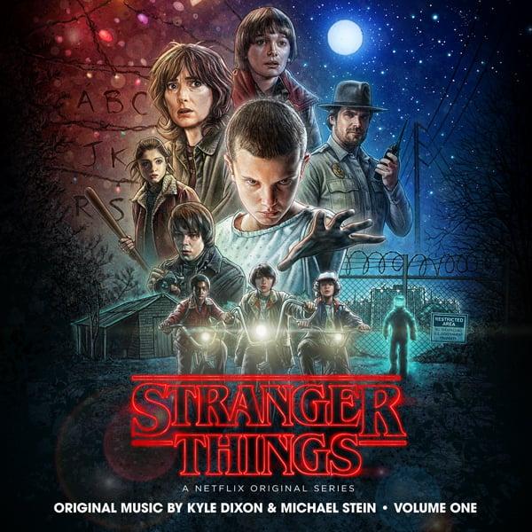 Image of Stranger Things Season One Volume One - CD - Kyle Dixon & Michael Stein