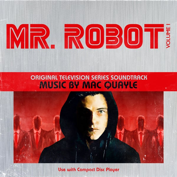 Image of Mr Robot Season 1 Volume 1 (Original Television Series Soundtrack) CD - Mac Quayle