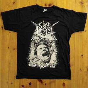 "Image of T-Shirt ""Mutant Killer Lice"""