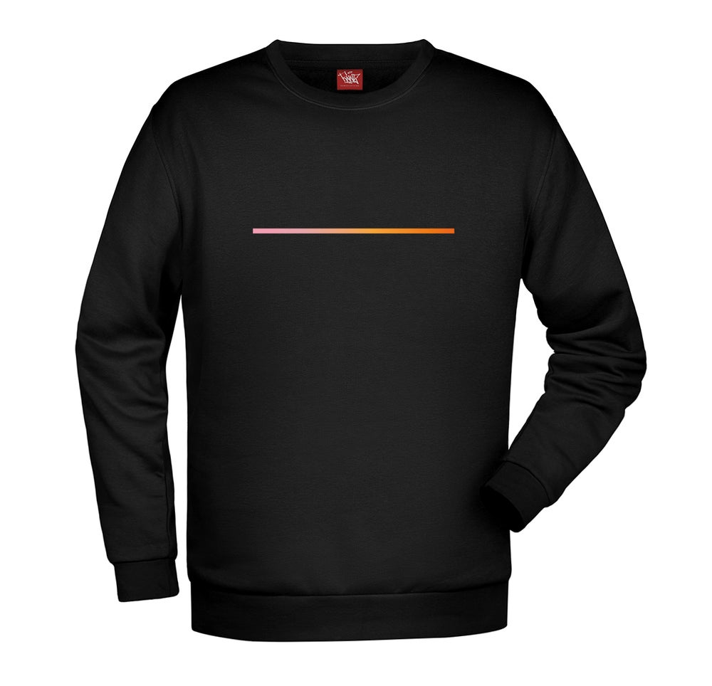 Image of LOOK THROUGH THE SLIT | Sweatshirt by Raws