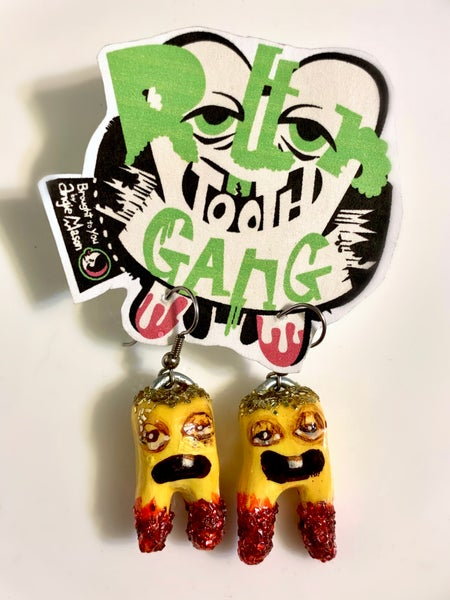 Image of Rotten Tooth Gang earrings #7