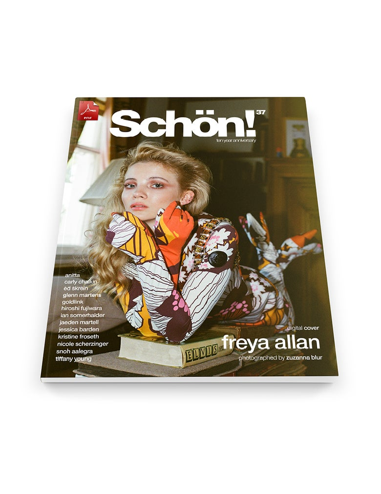 Image of Schön! 37 | Freya Allan by Zuzanna Blur | eBook download