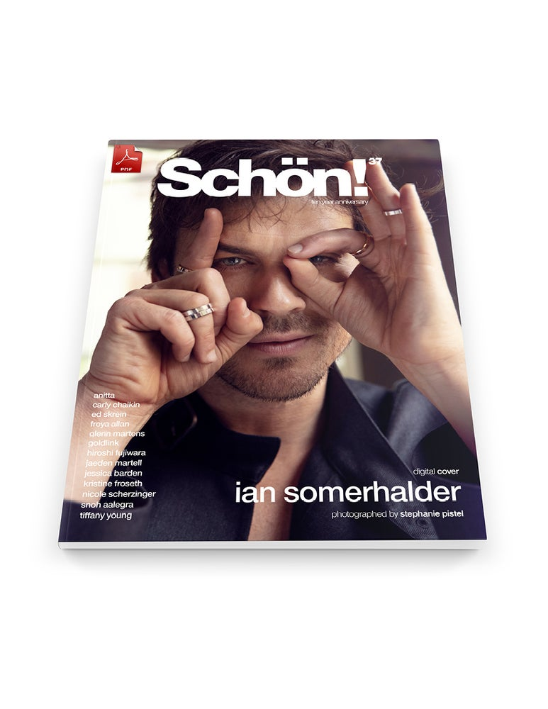 Image of Schön! 37 | Ian Somerhalder by Stephanie Pistel | eBook download