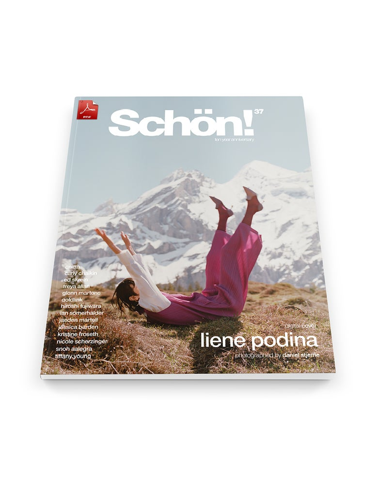 Image of Schön! 37 | Liene Podina by Daniel Stjerne | eBook download