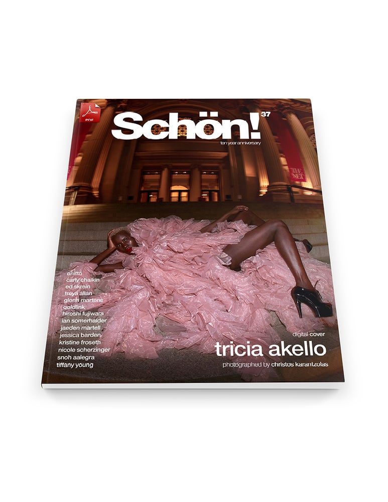 Image of Schön! 37 | Tricia Akello by Christos Karantzolas | eBook download