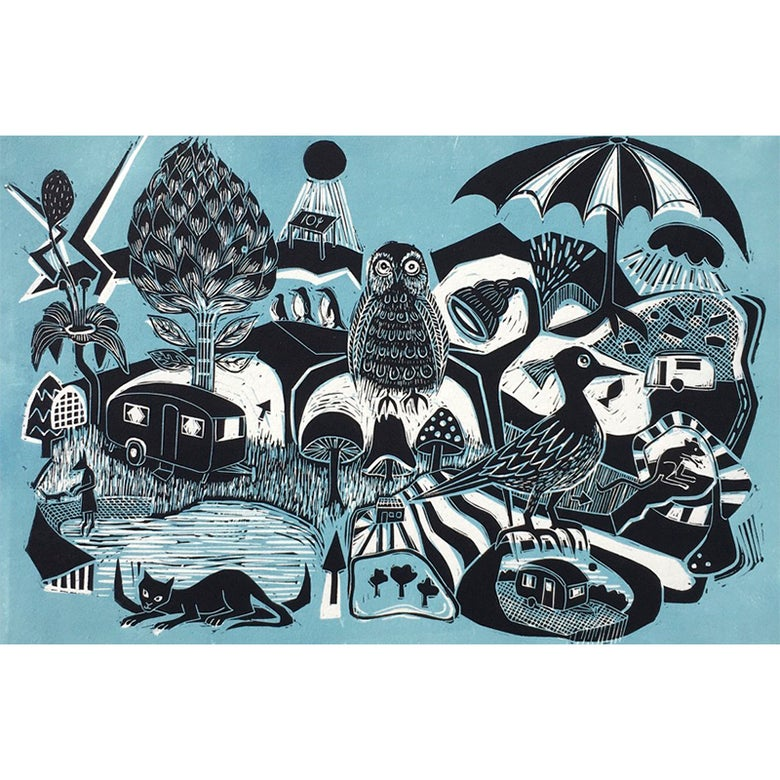 Image of 'The Owl, the penguins and the vintage vans'