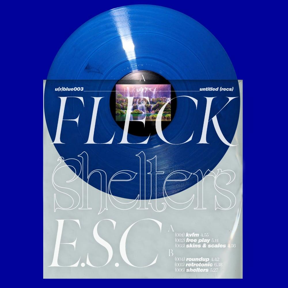 "Image of  *PRE-ORDER* Fleck E.S.C. - ""Shelters"" - u(r)blue003"