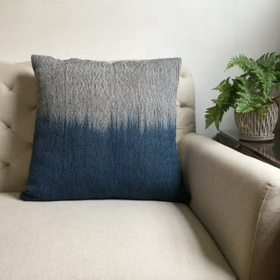 Image of Skyline Pillow - Midnight