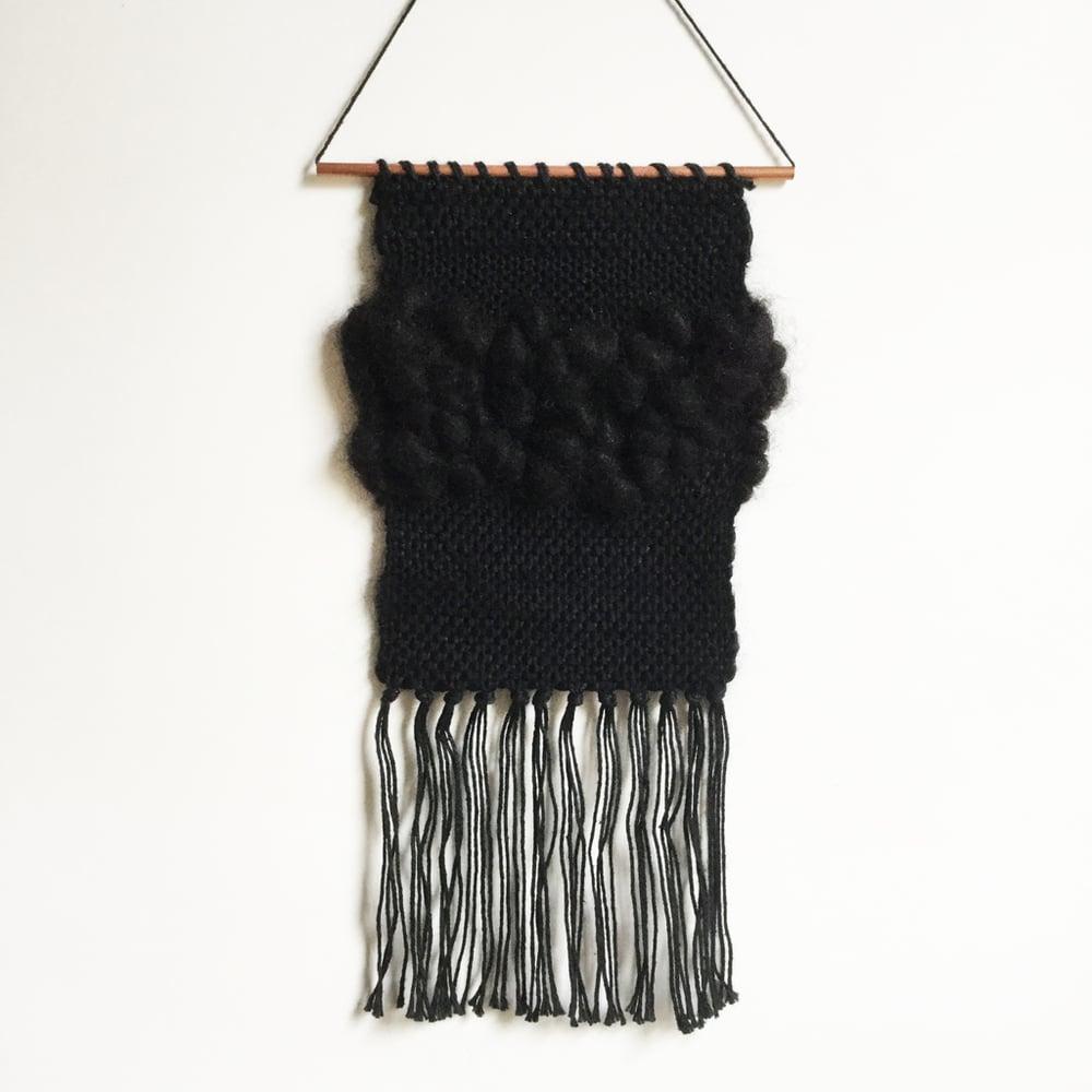 Image of Ciara Black Mini Wall Hanging