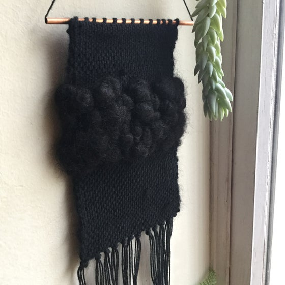 Image of Ciara Black Mini Wall Hanging