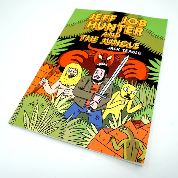 Image of Jeff Job Hunter and the Jungle Comic