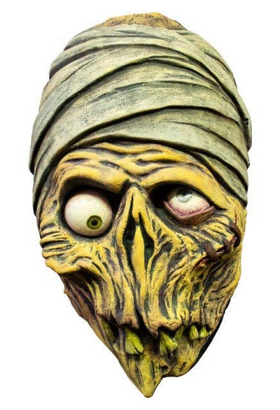 Image of MUMMY VACUFORM MASK - coming after halloween