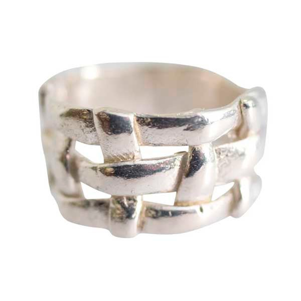 Image of Sterling silver or 24ct gold-plated Formentera ring