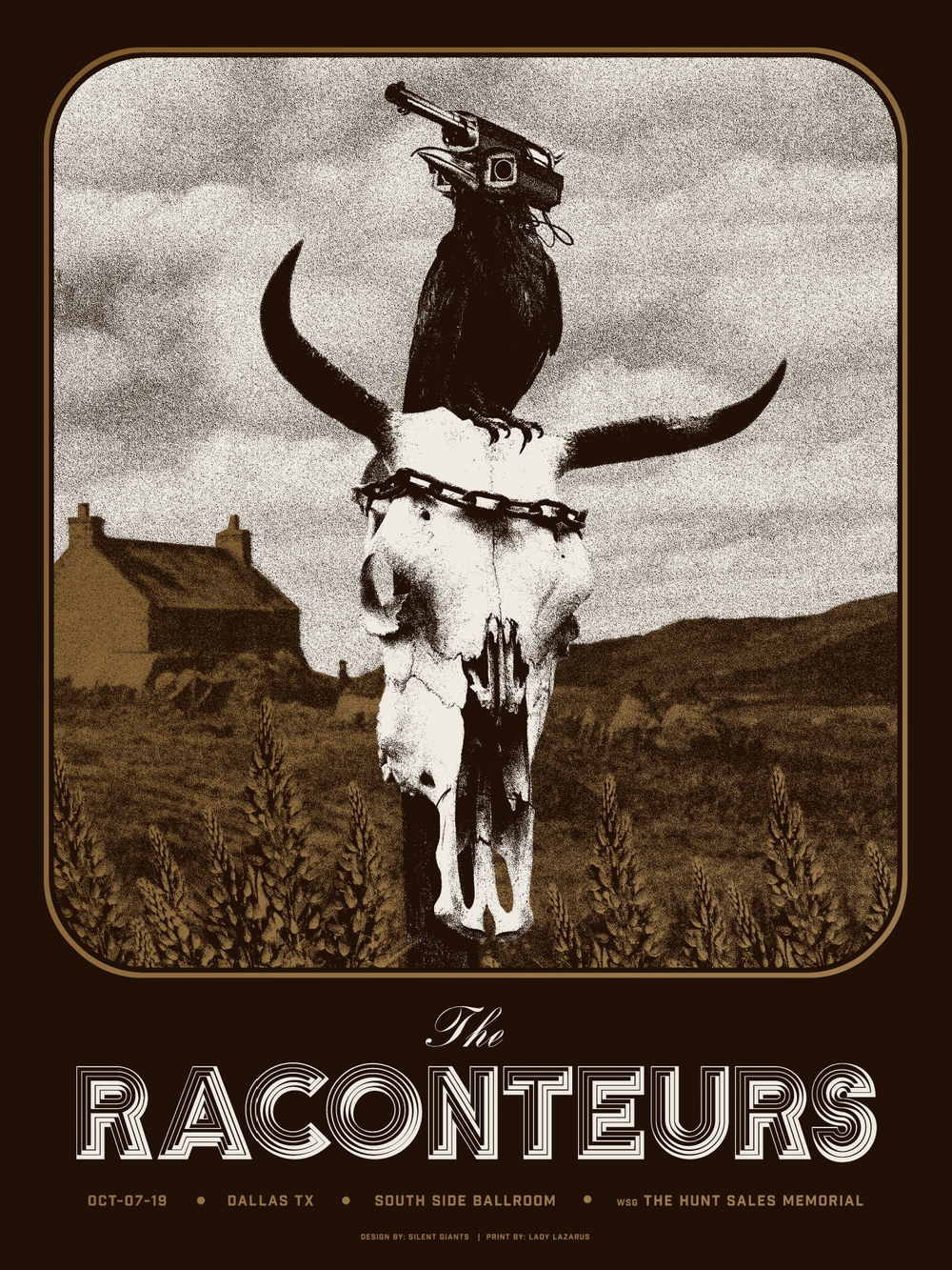 Image of The Raconteurs / Dallas / 2019