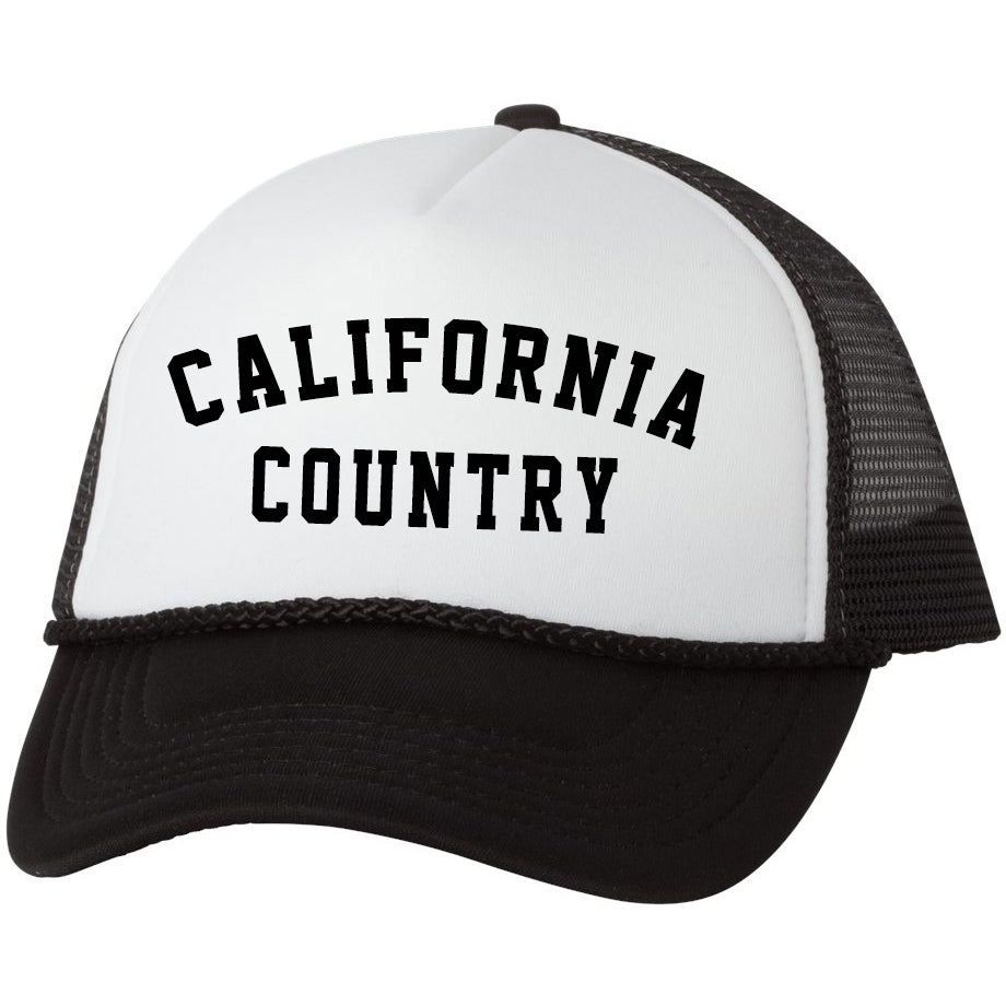 Image of California Country Trucker Hat - Black