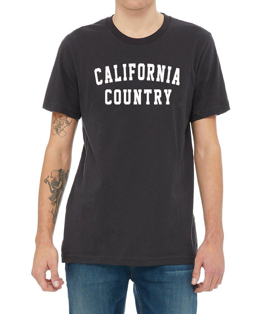 Image of California Country Men's Tee - Vintage Black