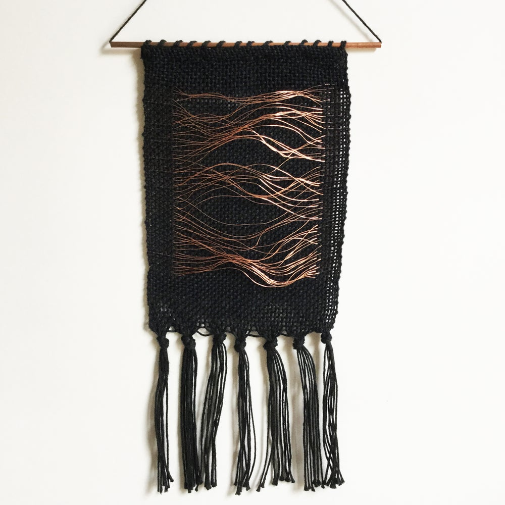 Image of Evie Black Mini Wall Hanging
