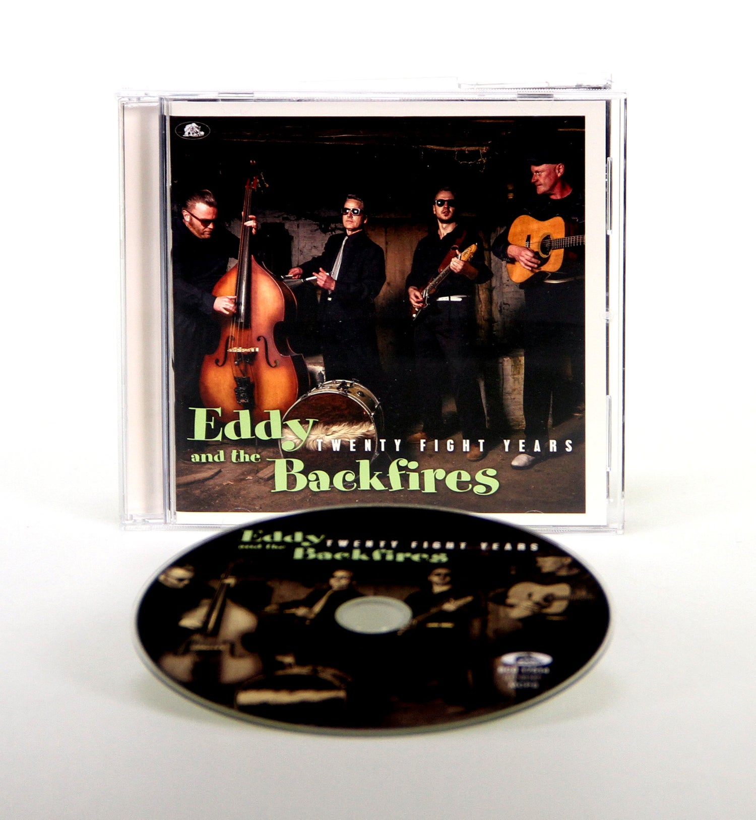 Image of Eddy and the Backfires - Twenty Fight Years (Album CD)